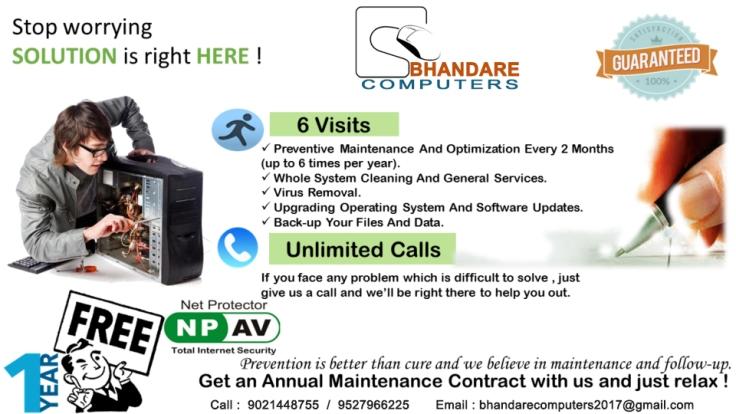 advt-bhandare-computer-chinchwad